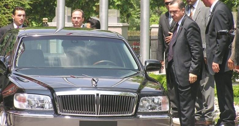 Erdoğan'a, 2004'te hediye edilen limuzin 41 bin 500 TL'ye satıldı