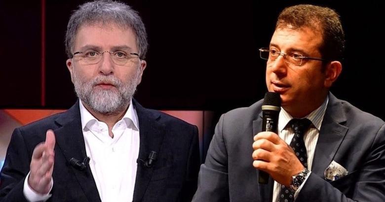 Ahmet Hakan'dan 'İmamoğlu' tepkisi