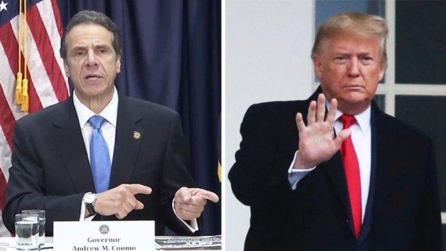 New York Valisi Trump'a isyan bayrağı açtı