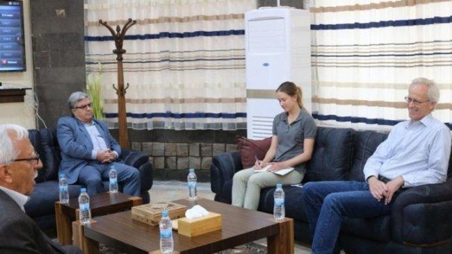 ABD'li heyet Rojava'da  8 siyasi parti ile görüştü