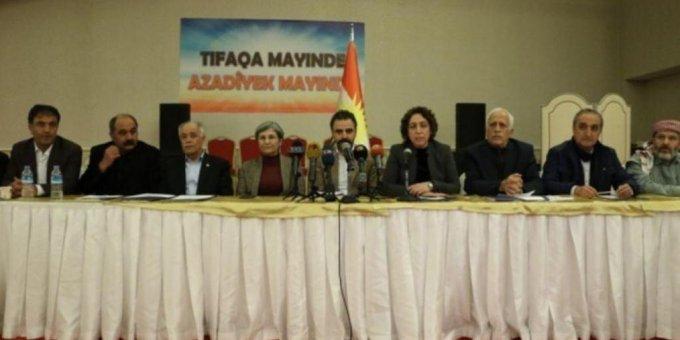 Kürdistan İttifak Çalışması'ndan 'KDP-PKK gerilimi' ile ilgili çağrı