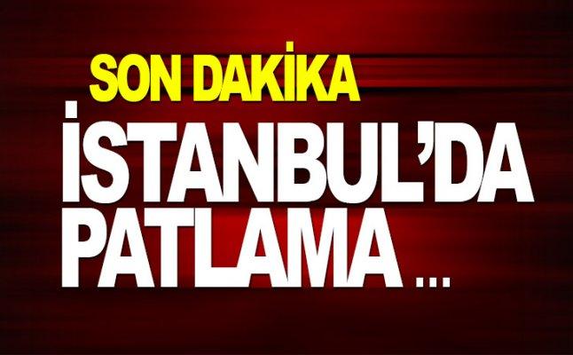 İstanbul da patlama: 2 yaralı
