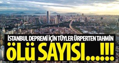 deprem istanbul