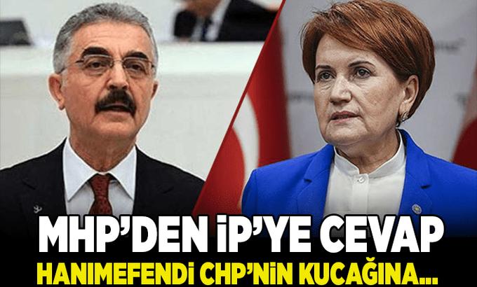 MHP'den İYİ parti'ye cevap: Hanımefendi CHP'nin kucağına…