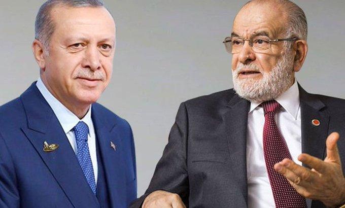 Erdoğan'dansürpriz Saadet Partisi ziyareti