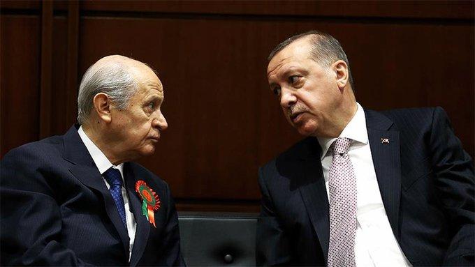 Bahçeli'nin 'HDP kapatılsın' çağrısına, Erdoğan olumlu yanıt verdi