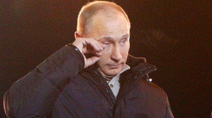 Putin'i 'gözyaşlarına boğan' tablo