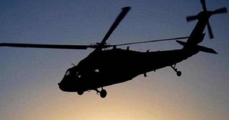 Helikopter apartmana çarptı