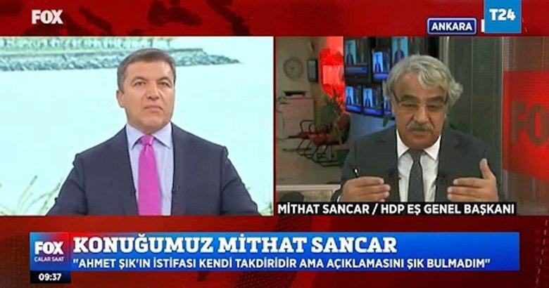 Mithat Sancar, Fox TV'de Ahmet Şık'ın istifa nedenini açıkladı