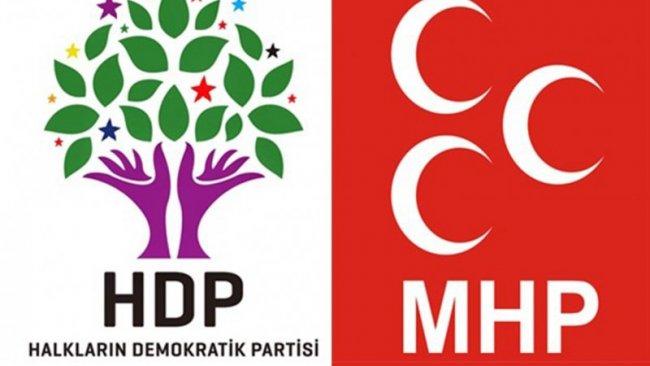 HDP'den sert Devlet Bahçeli açıklaması