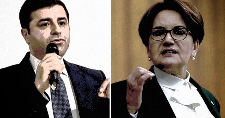 HDP'den Akşener'e Sert Demirtaş ve HDP yanıtı