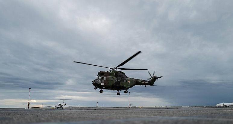 Sivil helikopter düştü içindeki 5 kişiden..