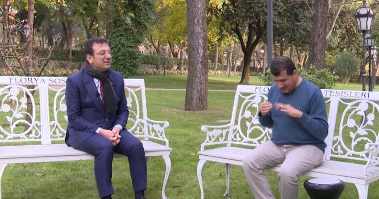 Bilal Göregen: İmamoğlu ile video çektiğim için tepki aldım