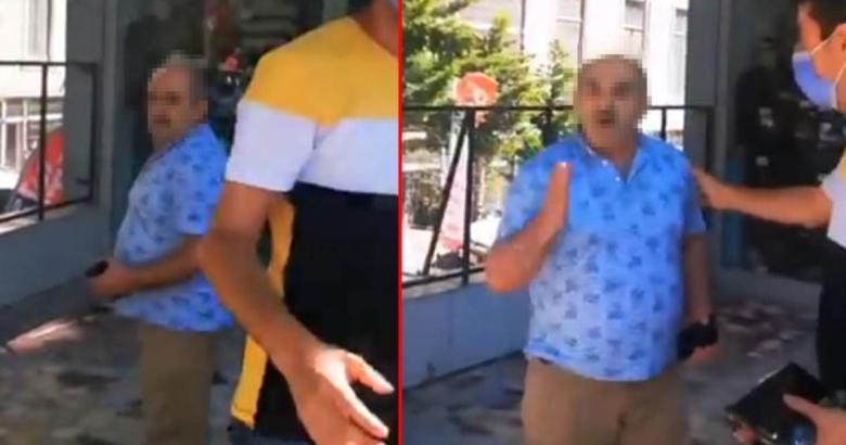 Video gündeme oturdu: Şort giyen kadına, yaşlı adamdan hakaret