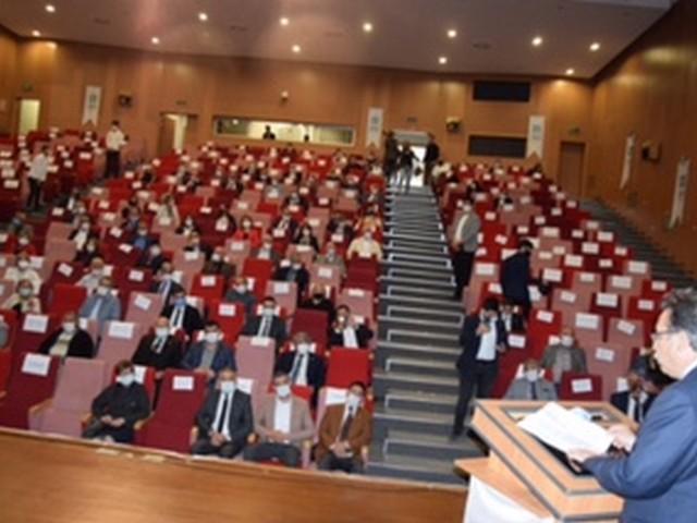 İYİ PARTİ'de Toplantı yapıldı.