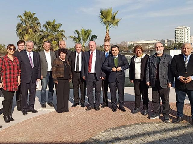 Çukurova Gazeteciler Cemiyeti Başkanı Cafer Esendemir,