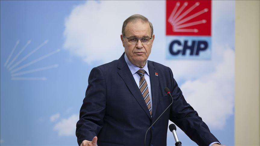 CHP Genel Başkan Yardımcısı ve Parti Sözcüsü Faik Öztrak, Yaptığı Basın Toplantısında Şunları Söyledi: