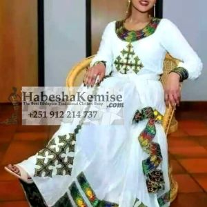 Alem Nat Ethiopian Traditional Clothes-59