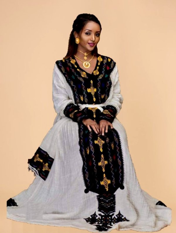 Amarech Ethiopian Traditional Dress-21