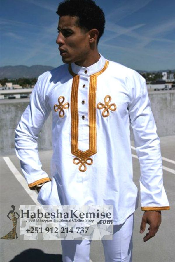 Anbessa Lij Ethiopian Traditional Dress Mens-17