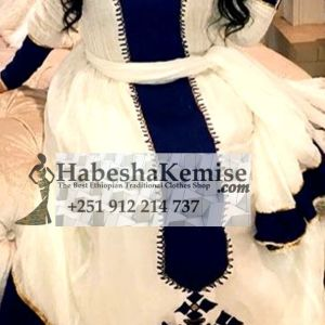 Blue Almaz Ethiopian Traditional Clothes-83