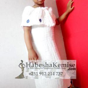 Classy Lij Ethiopian Traditional Dress Kids-28