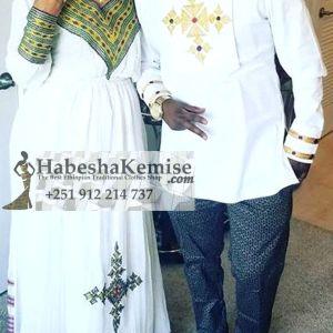 Ethio Romeo Juliet Ethiopian Traditional Dress Wedding-11