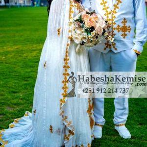 Kalanchi Ethiopian Traditional Dress Wedding-12