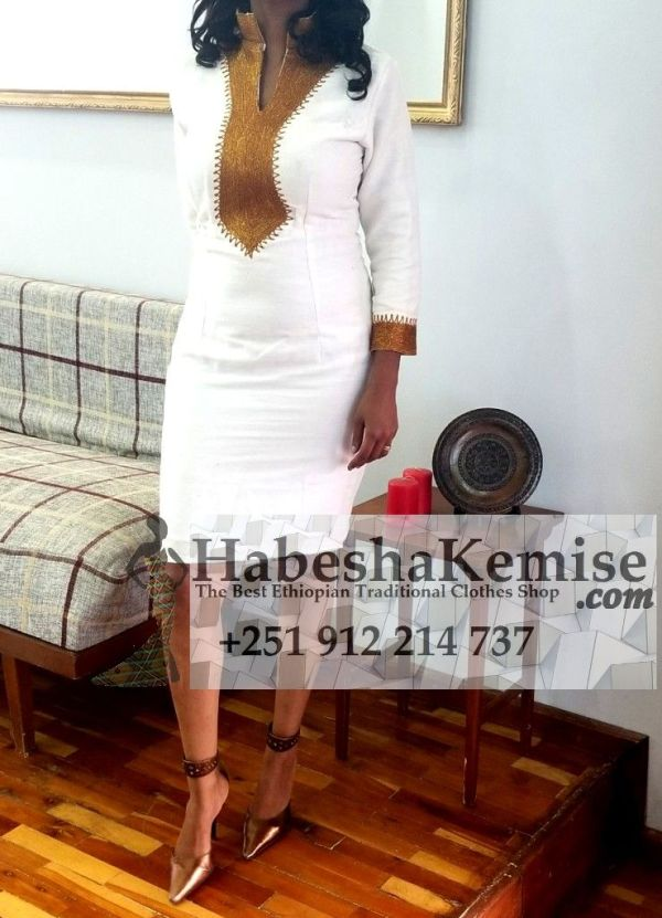 Queen of Addis Ethiopian Traditional Dress-2
