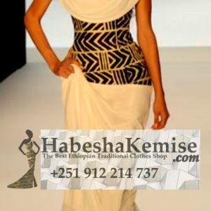 Sabela Ethiopian Traditional Dress-17