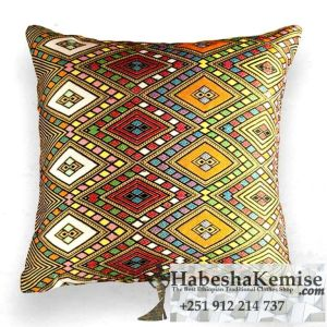 Traditional Ethiopian Enigma Tibeb Pillow Household Decor-6