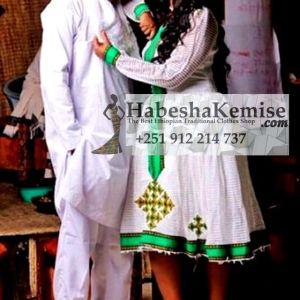 Young Love Ethiopian Traditional Dress Wedding-24