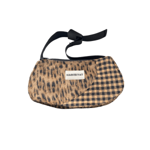 Baguette Bag in Leopardenmuster und Vichy