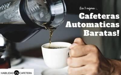 Las 5 mejores cafeteras superautomáticas baratas del 2021