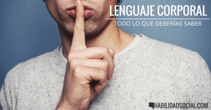 Lenguaje corporal: todo lo que deberías saber