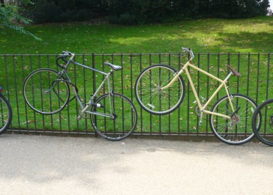 bikes in Hyde Park