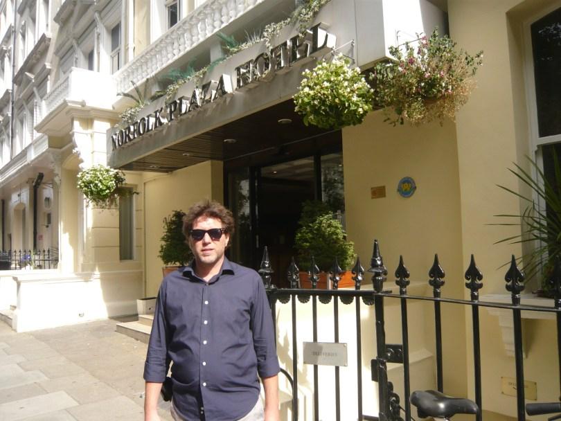 Javier Ortiz Norfolk Plaza Hotel. Londres