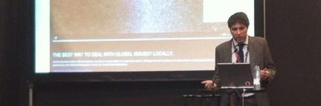 Presentación de Javier Ortiz en Fitur Green 2012