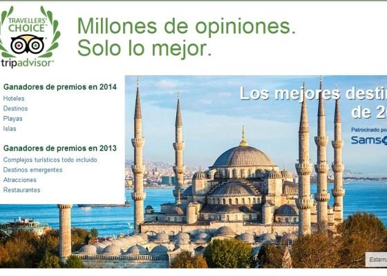 tripadvisor travellers choice awards destinations