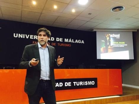 Minube Talks Minube School en Facultad Turismo Málaga