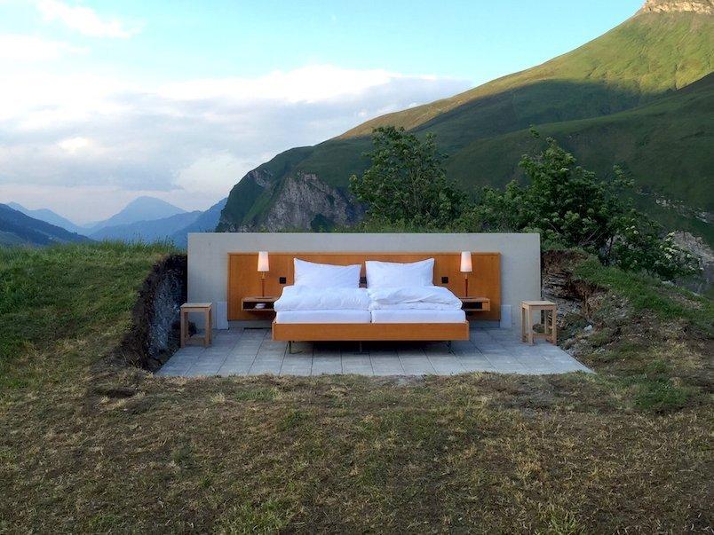 Null Stern Hotel en los Alpes
