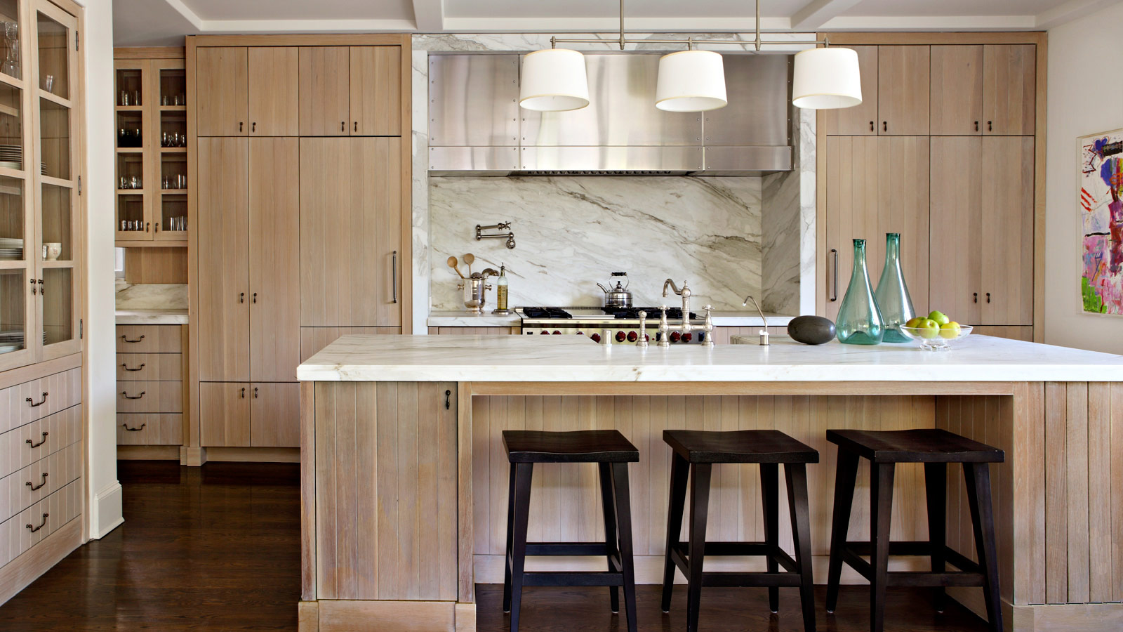 Natural Wood Kitchen Doors Novocom Top