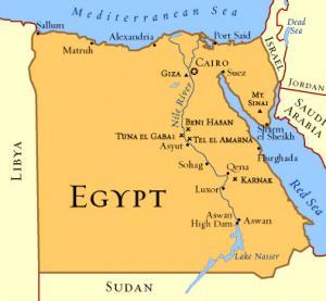 CARTE EGYPT