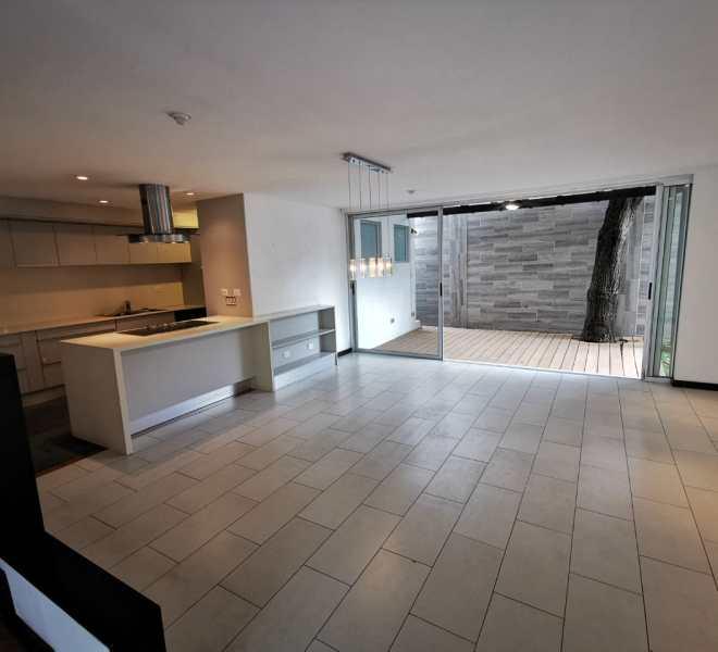 sala cocina terraza 2