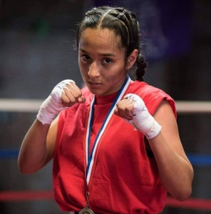 sara lopez, youth boxing champion