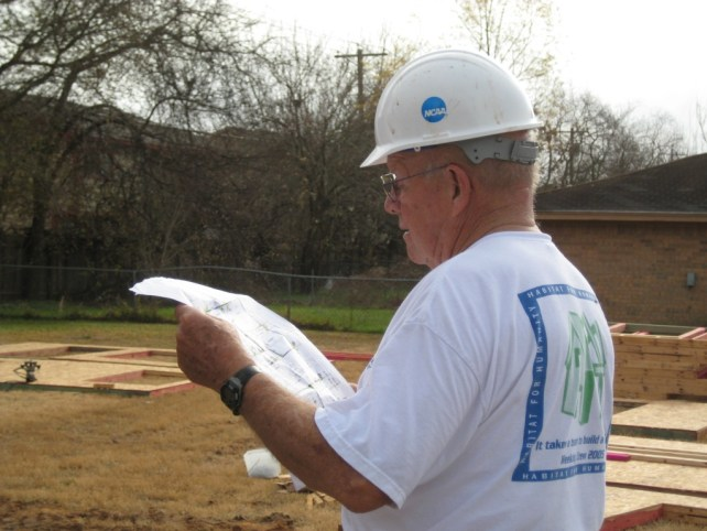 Jim Davis, Bryan/College Station, Habitat for Humanity