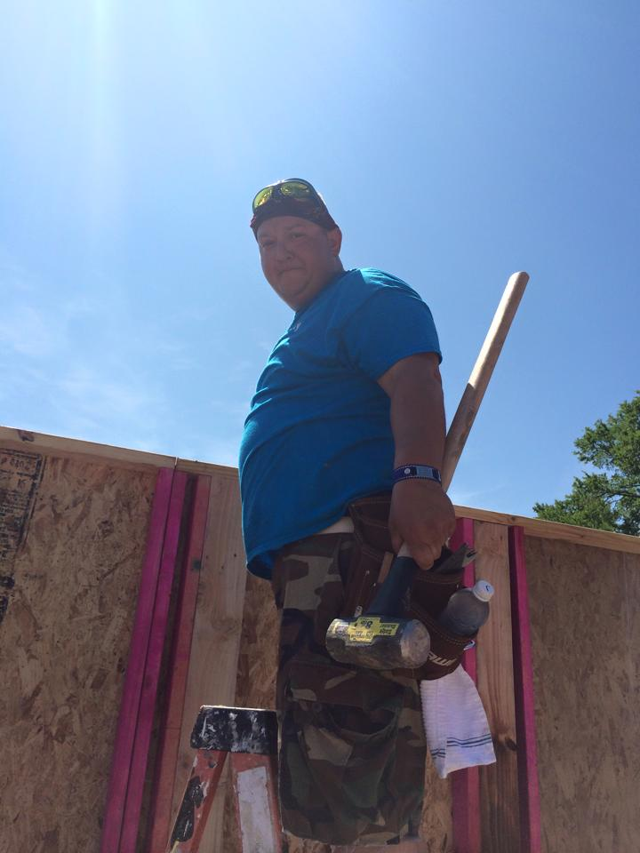 Bryan/College Station Habitat for Humanity Volunteer