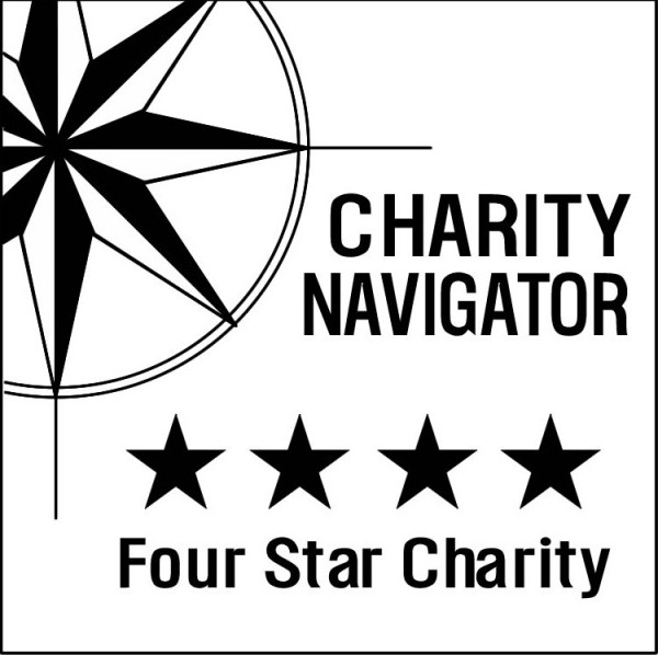 Bryan College Station Habitat for Humanity Charity Navigator 4 star rating logo