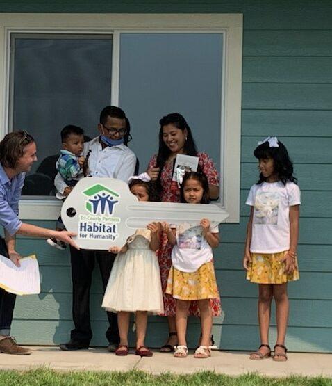 Habitat Home Dedication #144