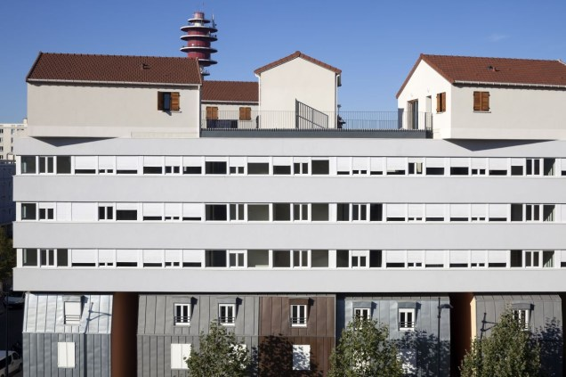 Social Housing, Champigny-Sur-Marne, France